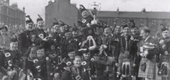 Shotts & Dykehead Pipe Band celebrating another win