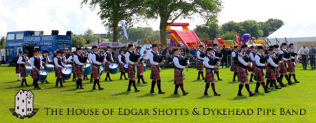 The House of Edgar Shotts & Dykehead Pipe Band